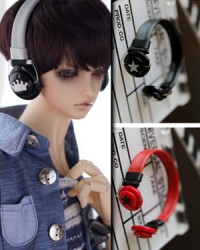 BJD Headphone-01 Silver